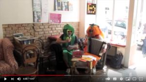 Veggieparty-Lesung-Youtube